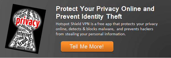 Learn more about Hotspot Shield VPN